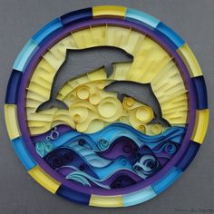 paper-quilling-dolphins-in-the-sun