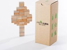 Wooden LEGOs from Mokurukku: A non-plastic alternative