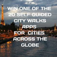#Giveaway: #win one of the 20 self-guided city walks apps for cities all over the world #travel http://www.earthsattractions.com/giveaway-20-self-guided-city-walks-apps/