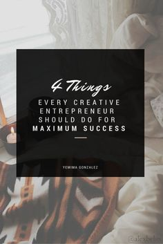 4 things every creative entrepreneur should do for maximum success. business tips Online Entrepreneur, Business Entrepreneur, Business Marketing, Content Marketing, Entrepreneur Ideas, Business Advice, Business Planning, Online Business, Career Advice