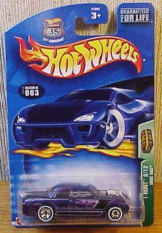 Hot Wheel  2003 TREASURE HUNT Shoe Box #003 Mint car/card 3/12 T-Hunt #HotWheels #ShoeBoxMercury