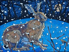 Andrew Haslen Winter Hare