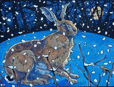 Andrew Haslen Winter Hare
