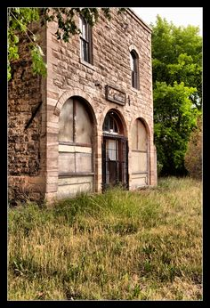 New Mexico Ghost Towns - Folsom Hotel,  Folsom, New Mexico