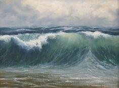 Donald Demers Paintings | Art Seascape | Pinterest | Study, Waves ...