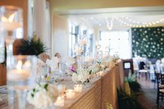 Gorgeous design and flower wall installation at the Barrie Country Club by Posh Beyond Events, photo by Mango Studios