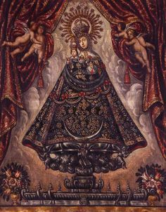 Monstra te esse matremThe mother of Jesus in art, life and devotion. Hail Holy Queen, Hail Mary, Blessed Mother Mary, Blessed Virgin Mary, Catholic Art, Religious Art, Colonial Art, Spanish Colonial, Santos