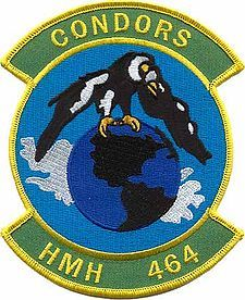 1944-04-15 Marine Squadron HMH-464 formed, deactivated 1946, reformed 1981-03-01