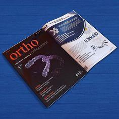 Pagina pubblicitaria per il nostro cliente Sia Orthodontic sull'International Magazine Ortho 📙📘