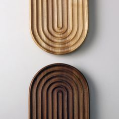 Stadio 2 is our new fruit-bowl/platter made from Ash or Olmus solid wood. Available from www.shibui.ch