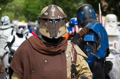 Mandalorian Merc with a Stalker helmet. This helmet doesn't have a rangefinder and has a modified visor trim -- it has to be my single favourite Stalker around!