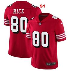 192567a2f Men 80 Jerry Rice Jersey Football San Francisco 49ers Jersey
