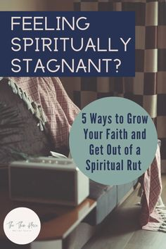 5 Essential ways to grow your Christian faith when you feel stuck in a spiritual rut #devotional #christianlife #catholiclife #christianwomen #christianliving Christian Women, Christian Living, Christian Faith, Faith Hope Love, Faith In God, Feeling Stuck, How Are You Feeling, Praying For Your Family, The Good Catholic