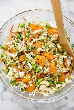 The crunch of ramen noodles and cabbage make this easy salad a picnic and pot luck favorite.