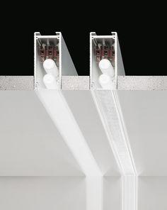 Barra a LED in alluminio estruso da incasso CHELSEA by PANZERI