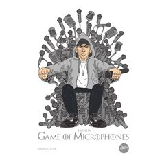 Game of Microphones - Game of Thrones meets #HipHop Legend - Eminem