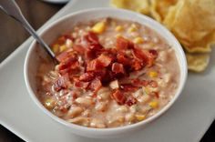 Slow Cooker Jalapeno Popper White Bean Chili | Mel's Kitchen Cafe