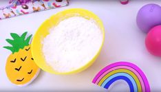 2 Ingredient Slime Recipe that you CAN make right now! Easy homemade slime made without borax and without glue. Make this simple slime with ingredients you probably have at home right now. Borax Slime, Slime No Glue, Diy Slime, Diy Arts And Crafts, Diy Crafts For Kids, Fun Crafts, 2 Ingredient Playdough, Easy Slime Recipe, Slime For Kids