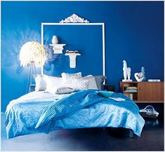 Fotos de  DORMITORIOS AZULES  - BLUE BEDROOMS .   ¿Has utilizado el color  azul en decoración ? ¿Sabes el significado del color azul? El...