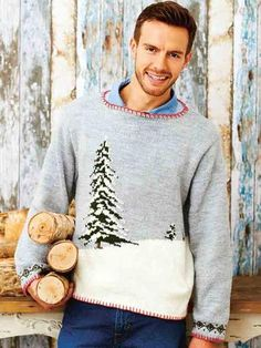 Love Christmas jumpers? Shop our round-up of the best festive knits now at The Knitting Network