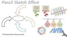 PowerPoint Pencil Sketch Effect : PowerPoint Effect Series