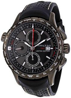 Hamilton X-Landing Chronograph GMT World Time Mens Watch H77786731