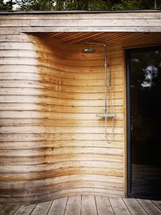 Lovely outdoor shower