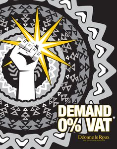 Comrades! Don't wait for min Gigaba's VAT increase budget speech. Pay 0% VAT at Deonne le Roux Jewellers from 16-25 February! We will pay the 14% on your behalf on all purchases except repairs. Kolonnade Shopping Centre Woodlands Boulevard