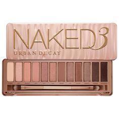 Get the No-Makeup Makeup Look with Urban Decay Naked3 palette #Sephora #nomakeupmakeup