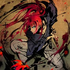 Kenshin from Samurai X, not Rurouni Kenshin. Yes, there is a difference :P
