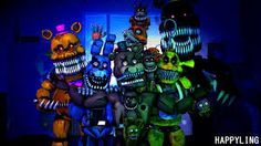 Afbeeldingsresultaat voor five nights at freddy's nightmare