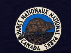 Vintage 'National Parks Canada' CREWNECK by snazzy77vintage