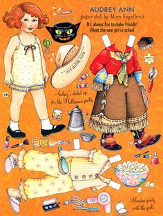 Paper Doll Halloween Party by Mary Engelbreit
