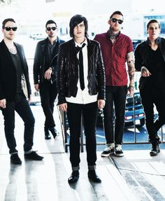 Sleeping With Sirens - Can we appreciate Gabe and Justin's fabulousness?