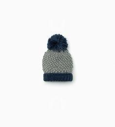 ZARA - KIDS - Knit hat with pompom