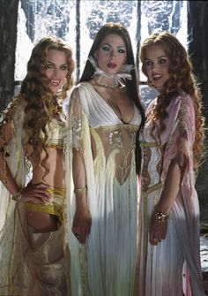 Draculas brides from the film Van Helsing.