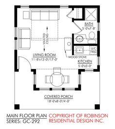 1000 images about studio floor plan on pinterest floor for Studio guest house plans