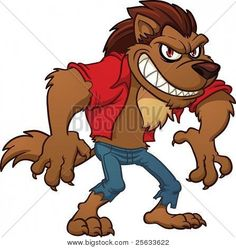 Image result for free clipart for werewolf