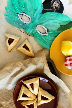 Sweet + Savory Camembert and Apple Cinnamon Hamantaschen Cookies - from Jewhungry
