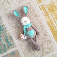 Bunny made by busem_kachan - pattern by amaloudesigns #crochet #crafts #amigurumi