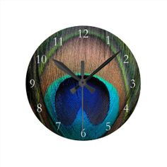 >>>Smart Deals for          Copper/Teal/Blue Peacock Feather Wall Clock           Copper/Teal/Blue Peacock Feather Wall Clock today price drop and special promotion. Get The best buyDiscount Deals          Copper/Teal/Blue Peacock Feather Wall Clock Review on the This website by click the b...Cleck Hot Deals >>> http://www.zazzle.com/copper_teal_blue_peacock_feather_wall_clock-256446854616113671?rf=238627982471231924&zbar=1&tc=terrest