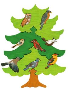Hey, I found this really awesome Etsy listing at https://www.etsy.com/listing/169560856/tree-with-birds-north-europe-montessori