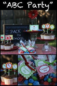 181 Best Back To School Party Images On Pinterest School Parties