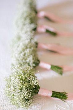 baby's breathe bouquets