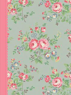 Cath Kidston Chelsea Roses Journal
