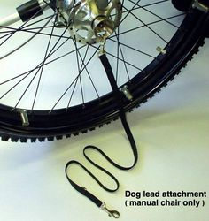Trekinetic Dog Lead attachment (available for the K2 manual chair only).