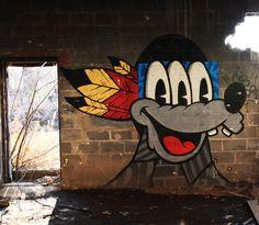 Abandoned Graffiti-Covered New Jersey