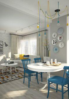 Фотография:  в стиле , Квартира, Проект недели, Зеленоград, Монолитный дом, 3 комнаты, 60-90 метров, Софья Петрухина – фото на InMyRoom.ru