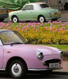 My dream car! Nissan Figaro: Wish upon a car... Glorious retro ...
