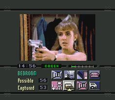 "Kelly ""Dana Plato"" Night Trap (1992)  One of the world's most controversial games of its time, being partially the reason for the ESRB rating.  Game sucked, though, and was cheesy as crap."